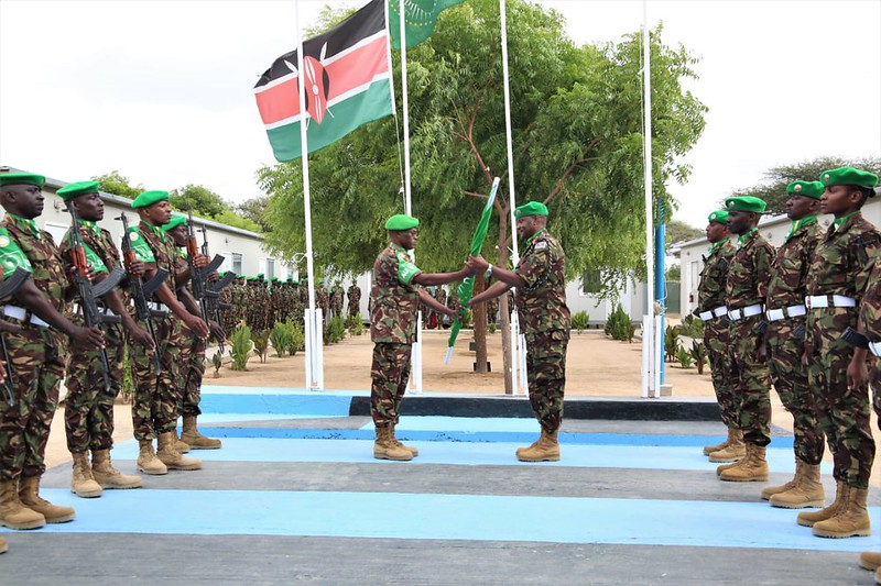 Kenya Defense Forces (KDF) under African Mission in Somalia (Amisom).