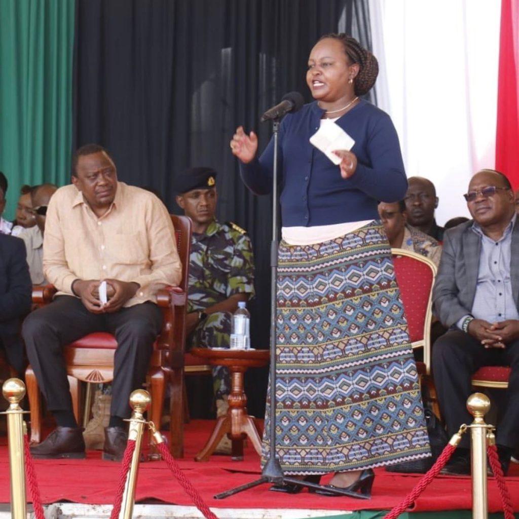 Kirinyaga County Governor Anne Waiguru