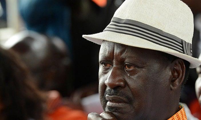 ODM Leader Raila Odinga