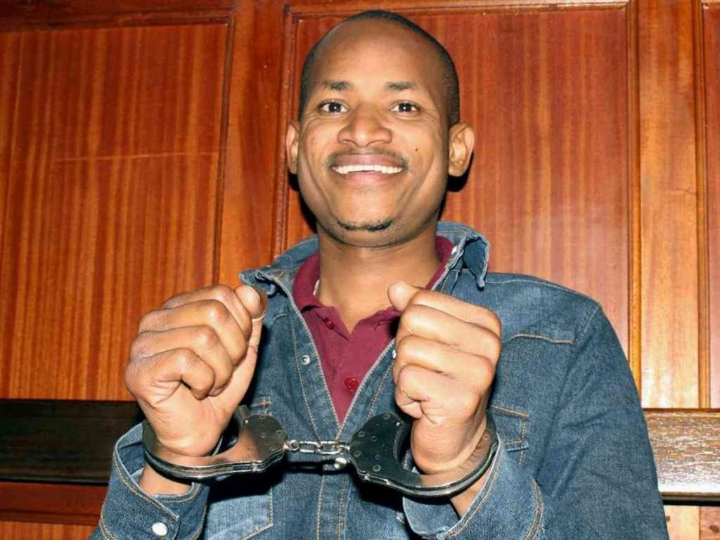 Babu Owino in court after his arrest for shooting DJ Evolve