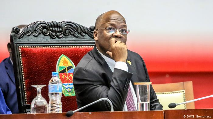 Tanzania President John Magufuli. Tanzania has the lowest cases of Covid-19 in East Africa