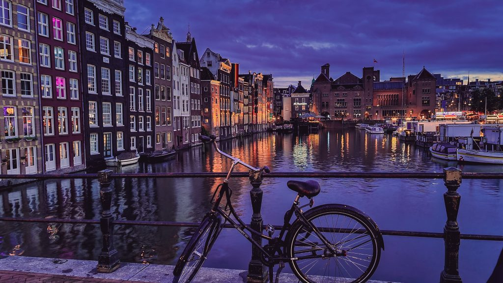 Amsterdam is known for its magnificent Red Light District