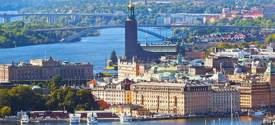 Stockholm, the capital city of Sweden